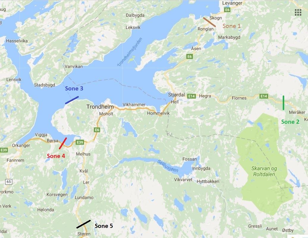 malvikhallen kart Retningslinjer for refusjon av kjøring : Malvik Håndball malvikhallen kart