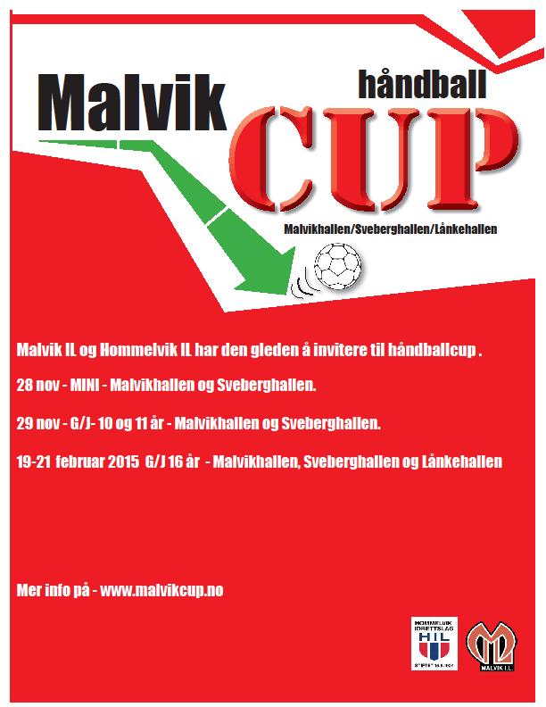 Invitasjon Malvik Håndballcup 2015/2016